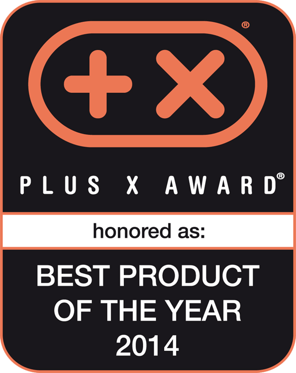 Plus X Award best Product of the Year