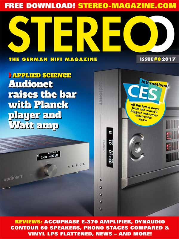 Stereo title issue 1 / 2017 - Test Audionet Planck und WATT