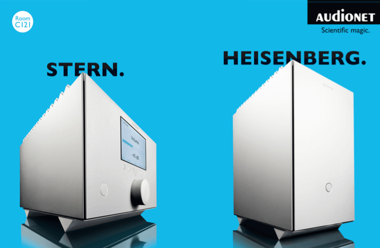 Audionet Heisenberg Stern at the Highend Munich 2017